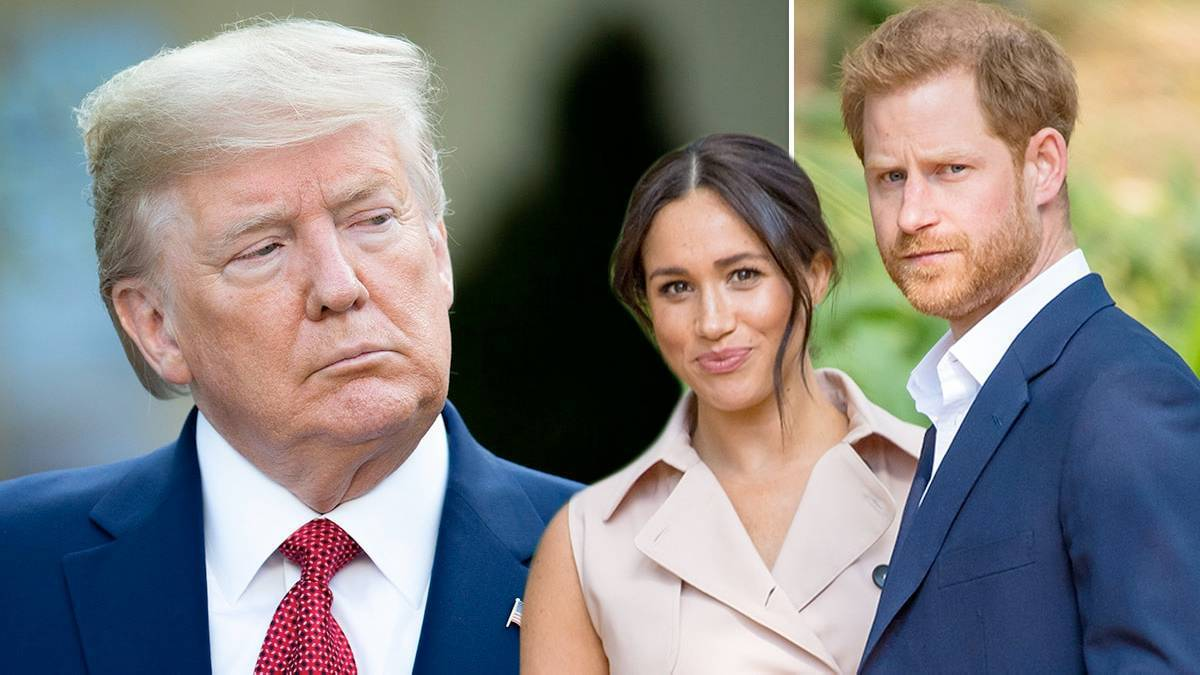 Donald Trump o przeprowadzce Meghan i Harry'ego do USA
