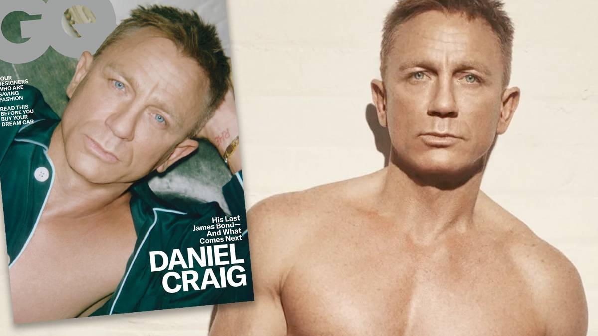 Daniel Craig w GQ