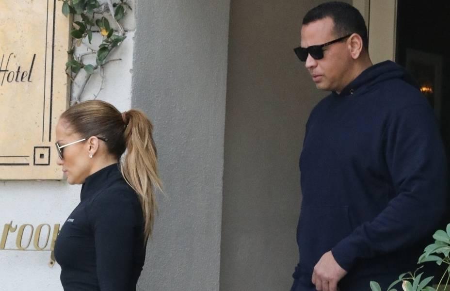 Jennifer Lopez i Alex Rodriguez - siłownia