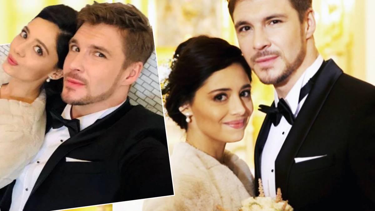 Mikołaj Roznerski i Adriana Kalska - ślub w M jak miłość