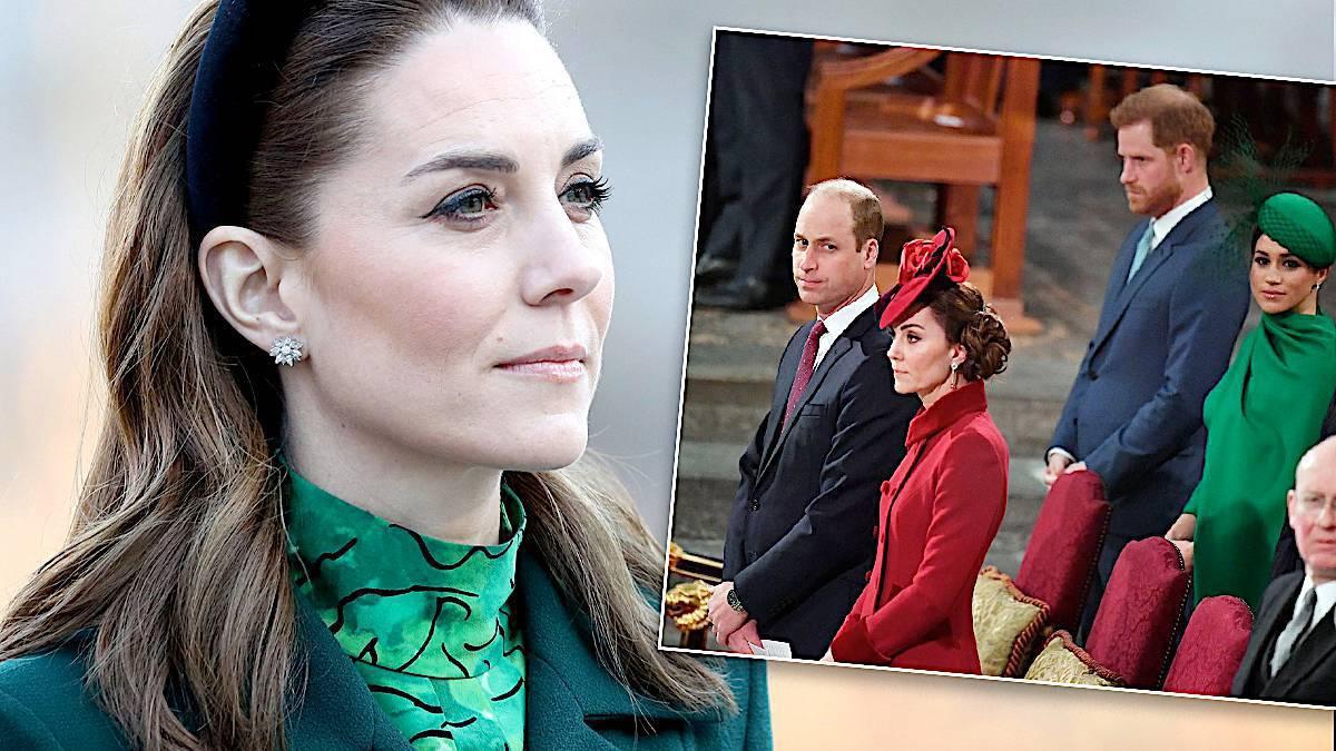 Księżna Kate przeżywa odejście Harry'ego