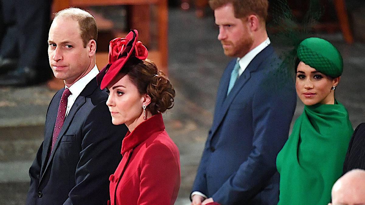 Księżna Kate, książę William, Meghan Markle, książę Harry