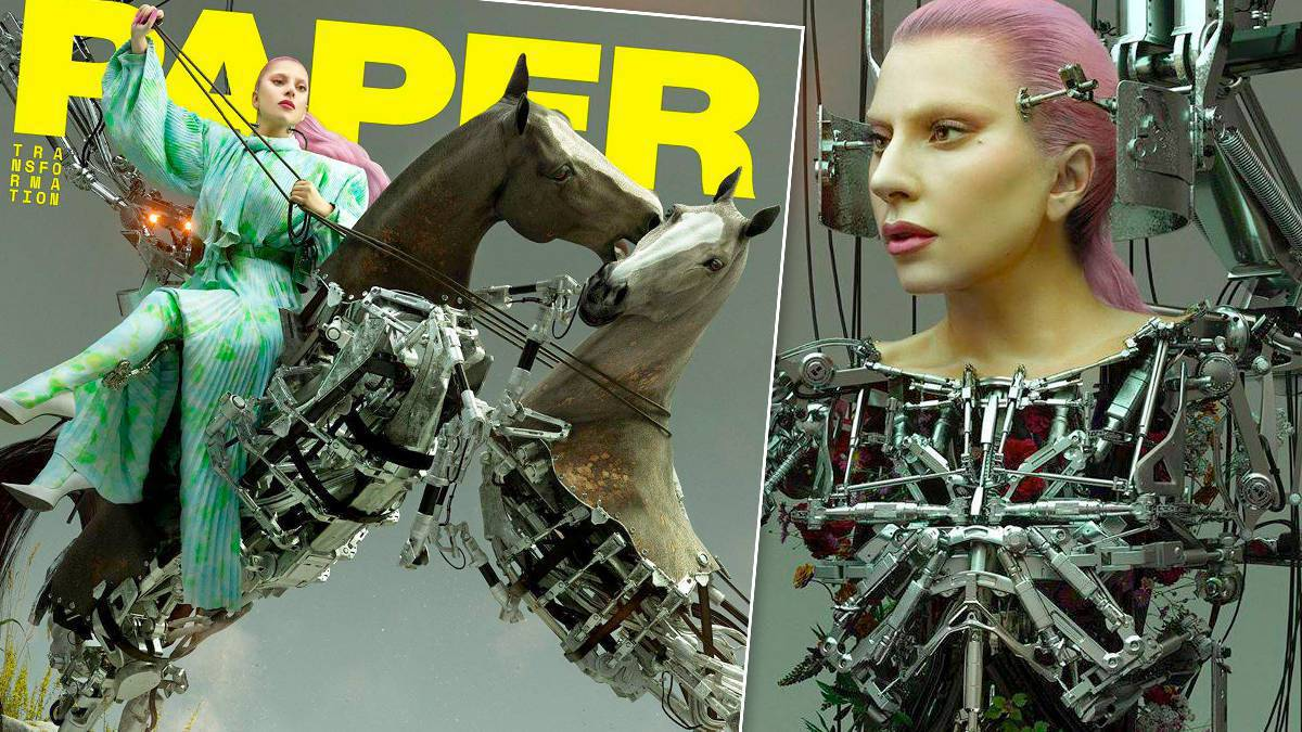 Lady Gaga w Paper magazine