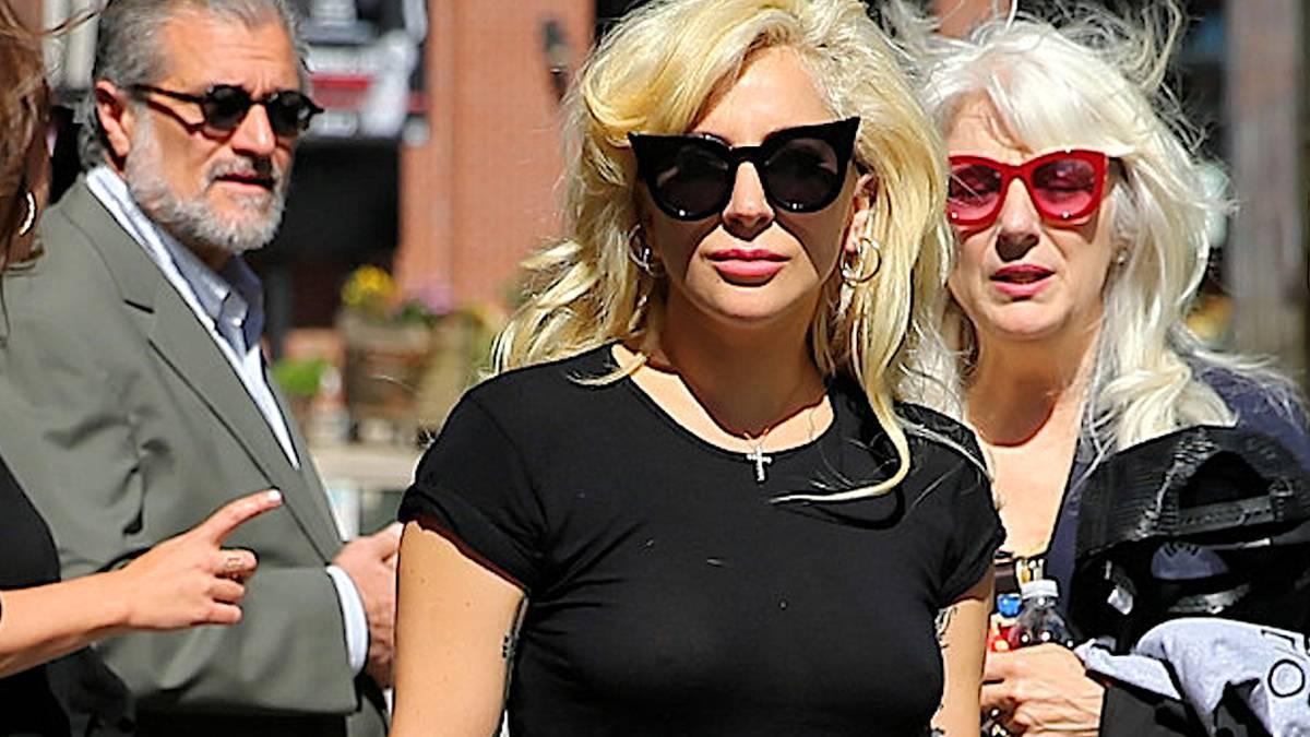 Lady Gaga z rodziną
