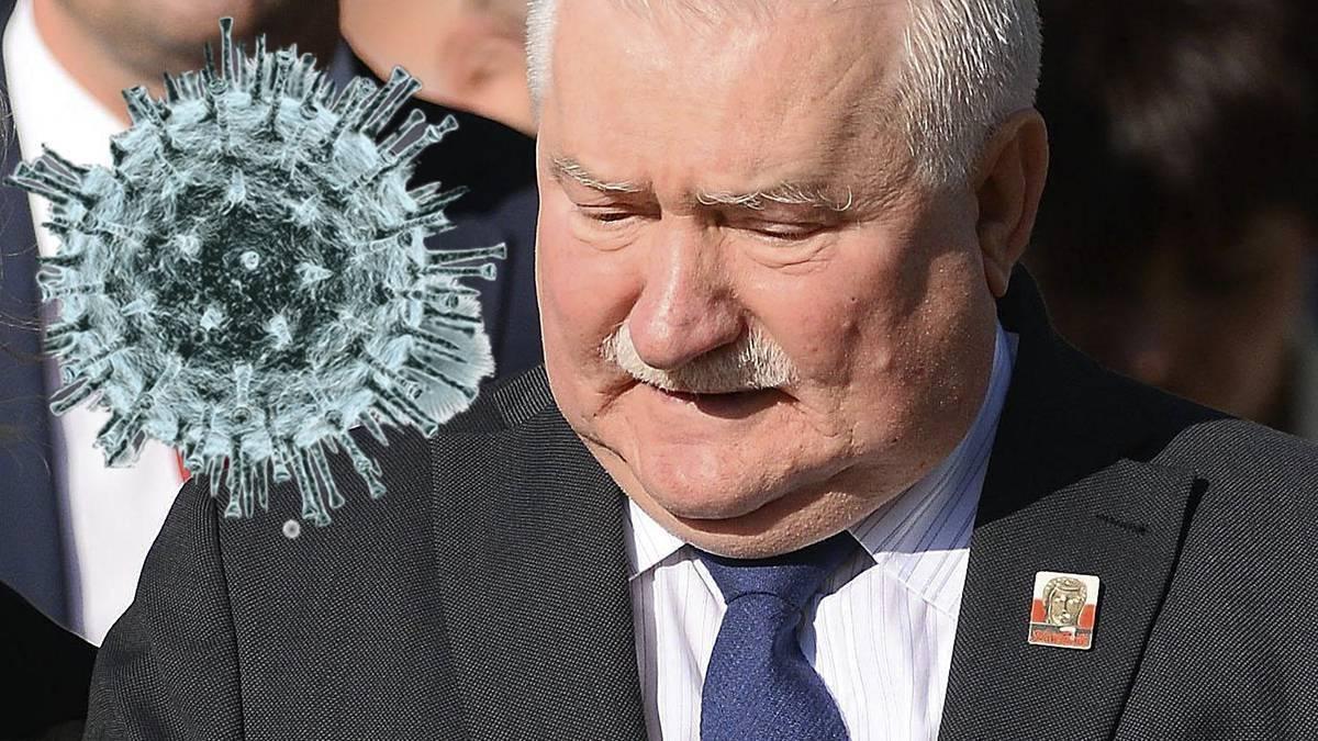 Lech Wałęsa o koronawirusie