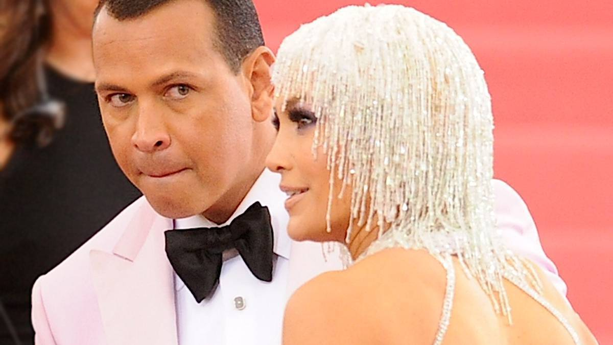 Alex Rodriguez i Jennifer Lopez