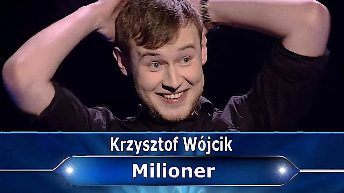 Krzysztof Wójcik – Milionerzy