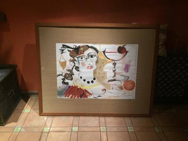 Obraz Magdy Gessler sprzedany na aukcji WOŚP 2017