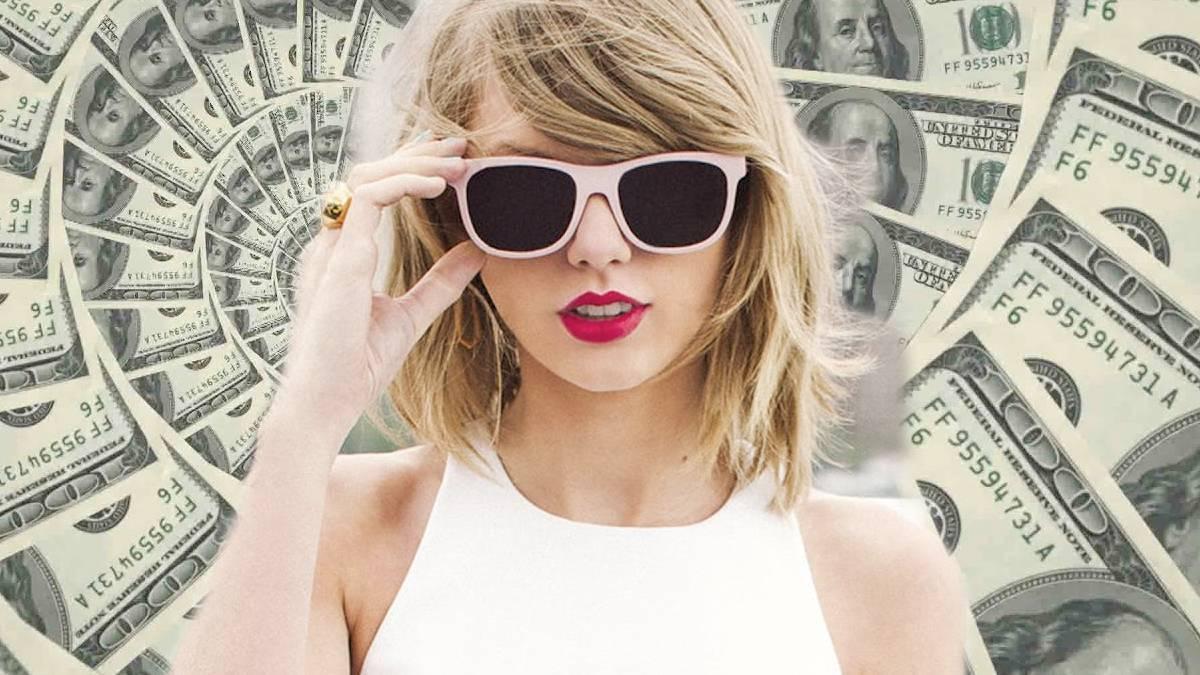 Taylor Swift pieniądze