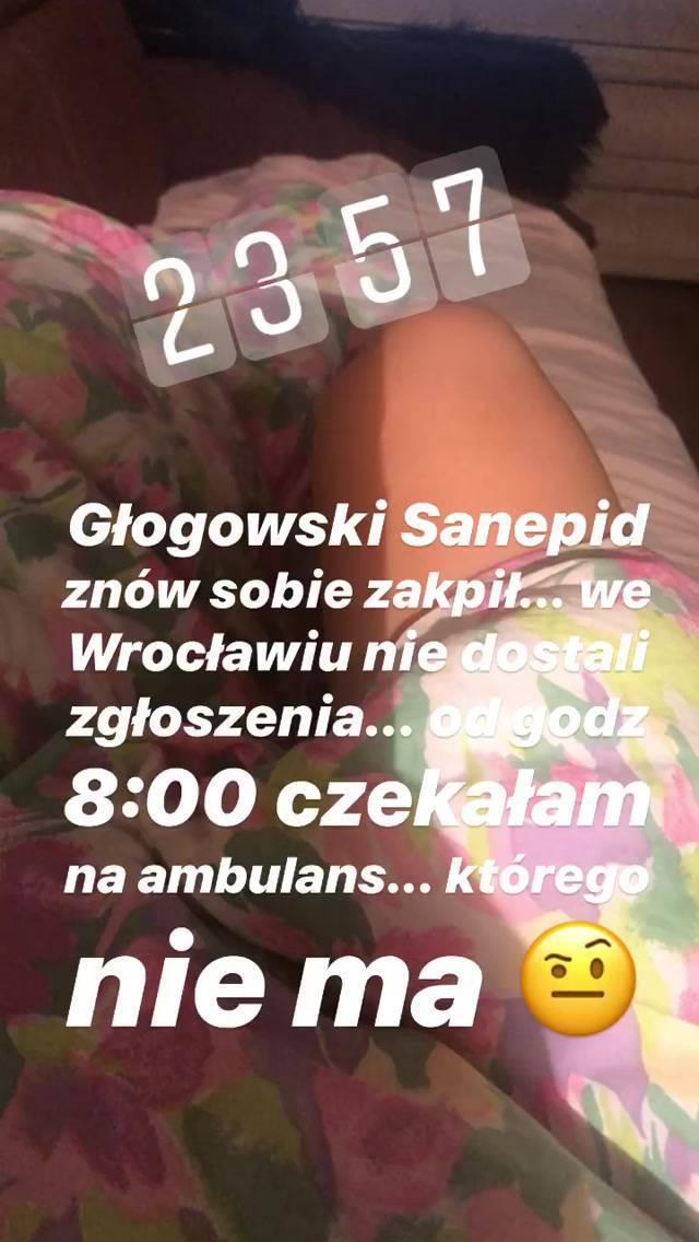 Andzia z Warsaw Shore - zarażona koronawirusem