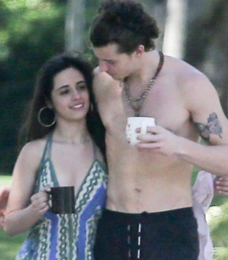 Zdjęcie (2) Camila Cabello i Shawn Mendes przyłapani na namiętnościach podczas kwarantanny. Jak oni się kochają!