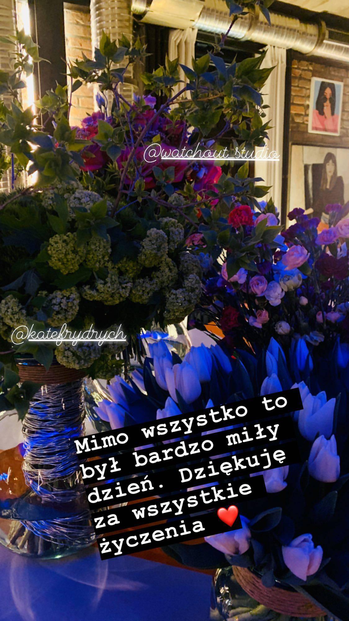 Agnieszka Woźniak-Starak - urodziny