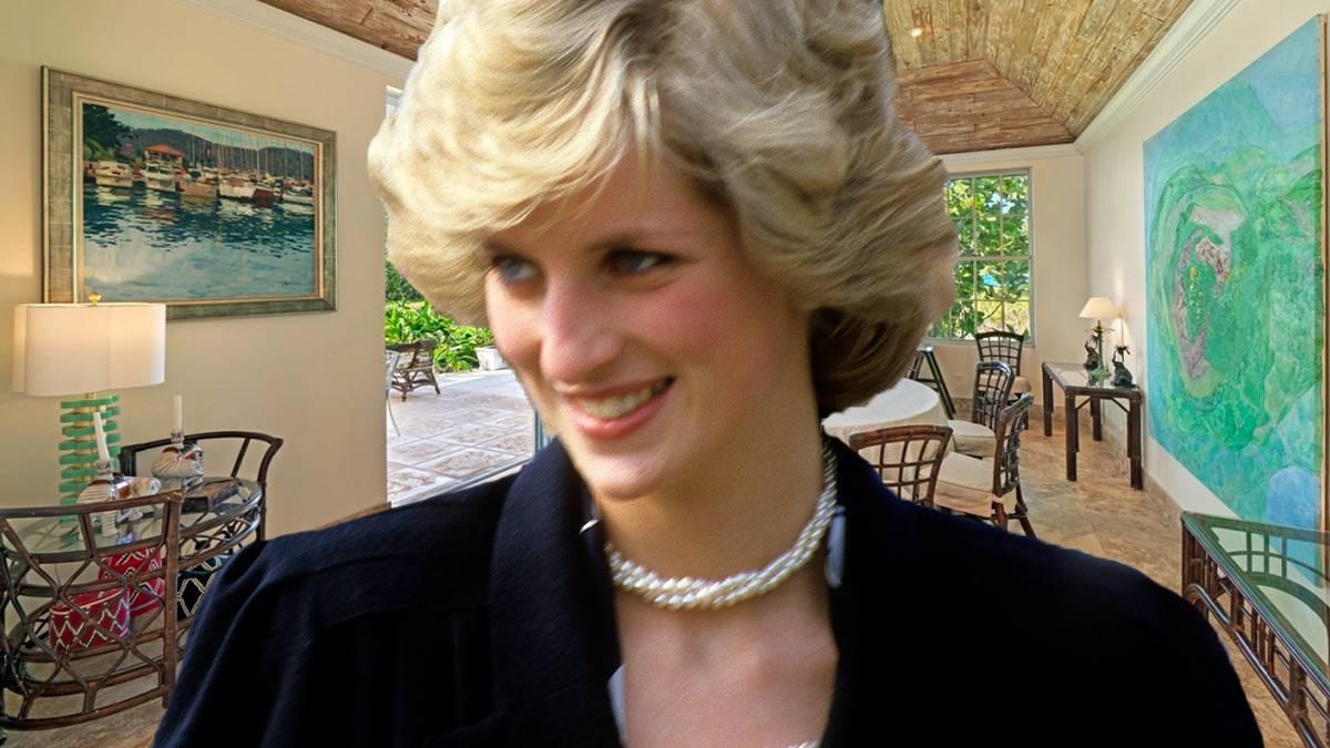 Księżna Diana posiadłość wakacyjna