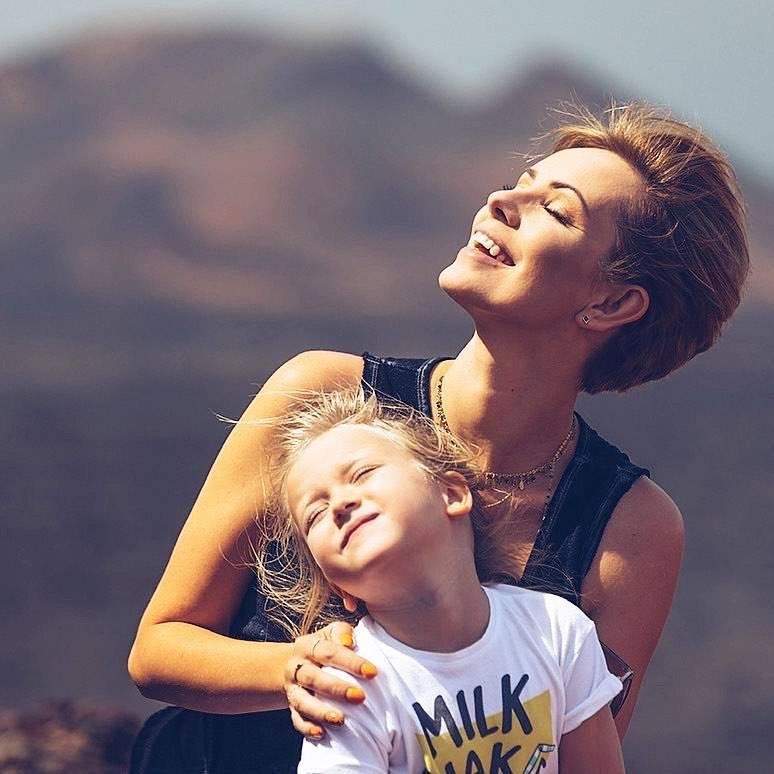 Dorota Gardias z córką Hanią