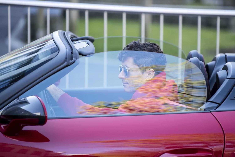 Robert Lewandowski w Porsche