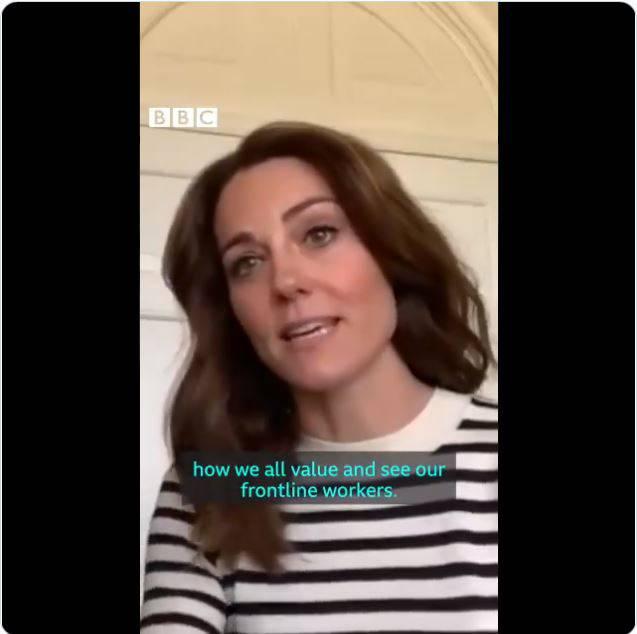 Kate podczas wywiadu dla BBC