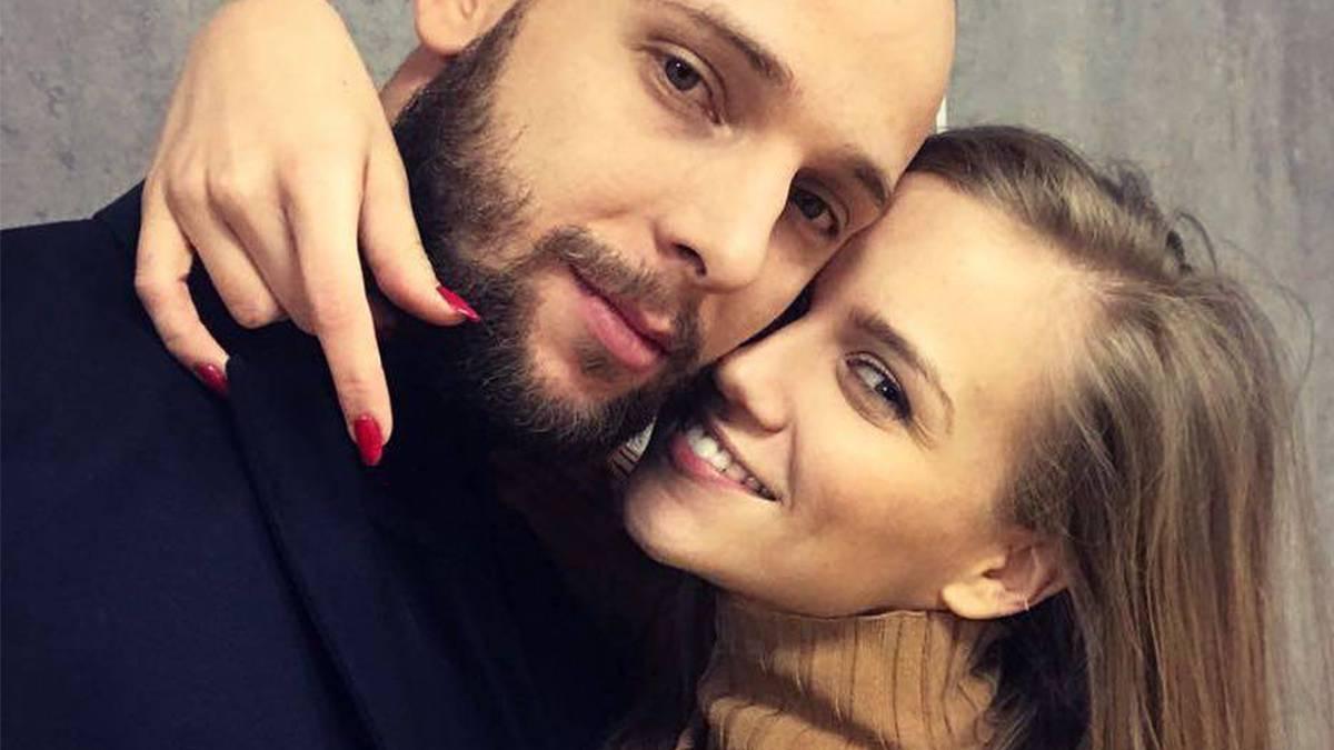 Maciej Pela i Agnieszka Kaczorowska