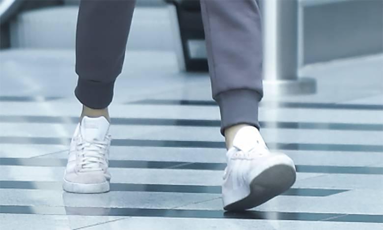 Marcelina Zawadzka nosi płaskie buty