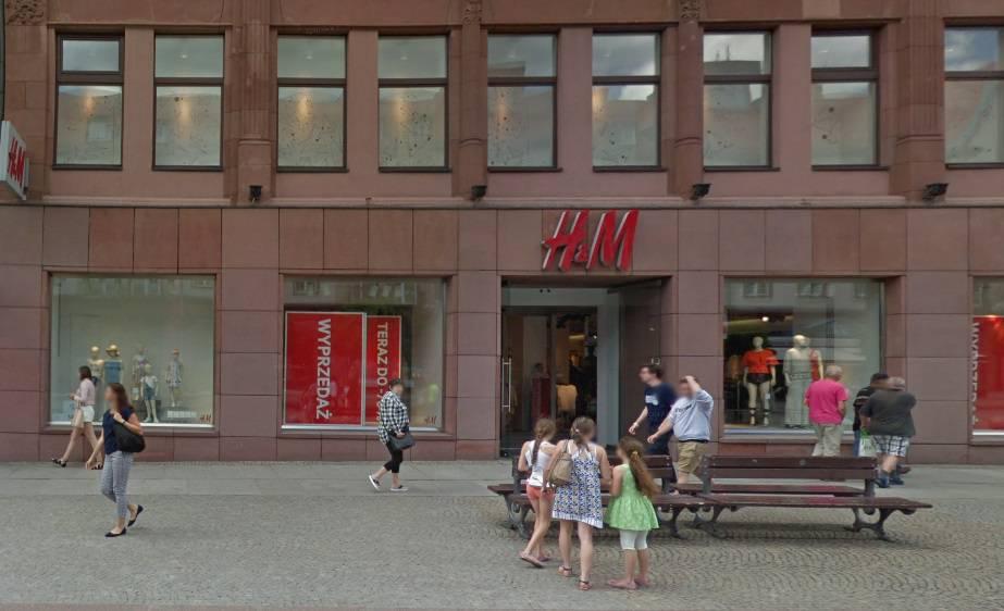 Sklep H&M Wrocław – ul. Świdnicka 7
