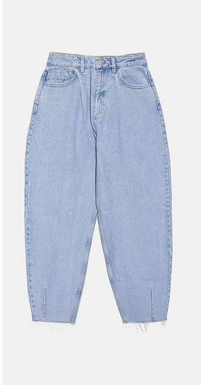 Slouchy jeans z Zary - 59,90