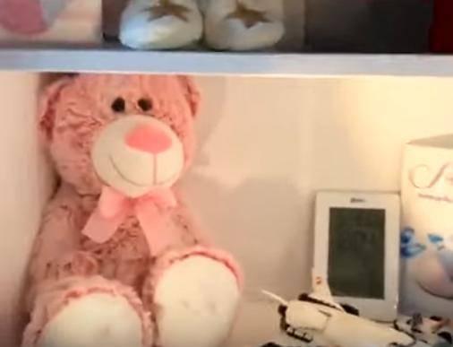 Ozdoby w pokoju córki Joanny Moro