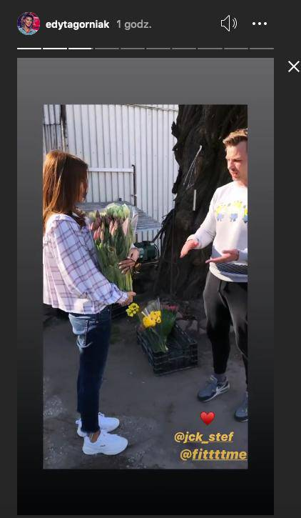 Edyta Górniak uratowała hodowlę tulipanów