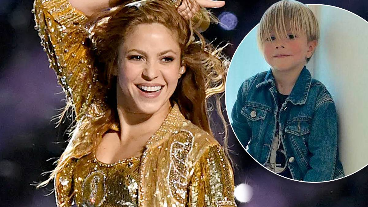 Shakira, syn Sasha