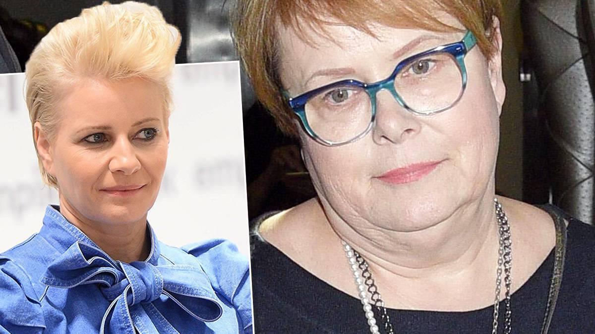 Małgorzata Kożuchowska i Ilona Łepkowska
