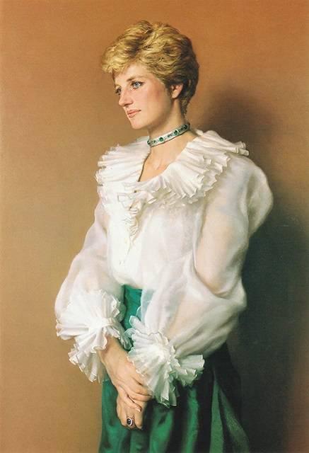 Księżna Diana - oficjalny portret księżnej Walii