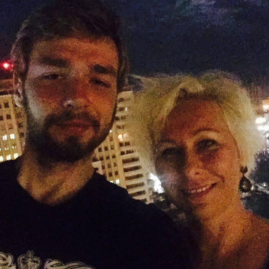 Katarzyna Litwiniak z synem