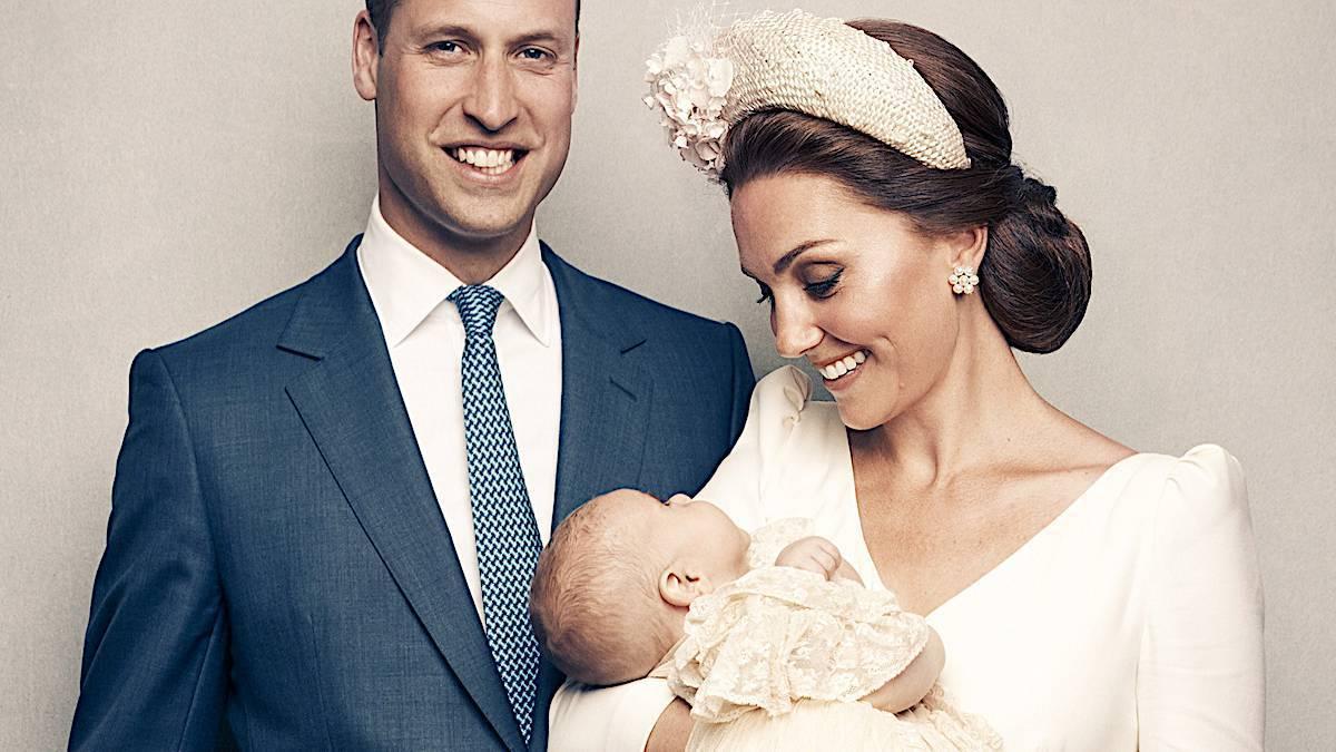 Książę Louis z Kate i Williamem