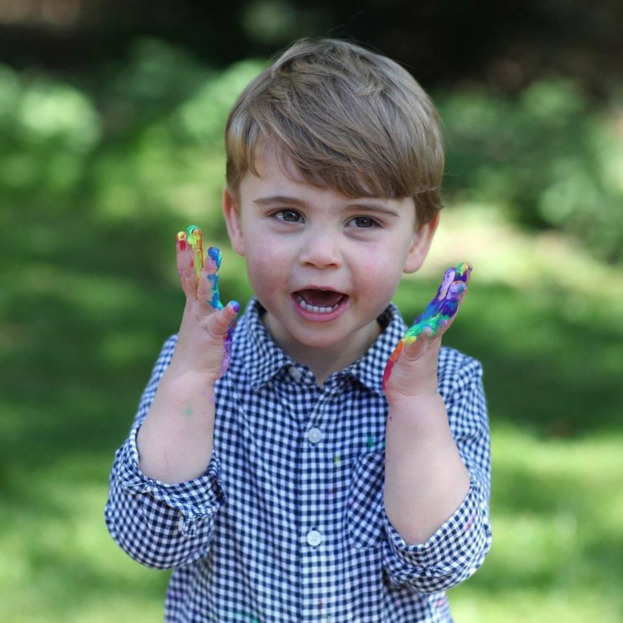 Książę Louis – drugie urodziny