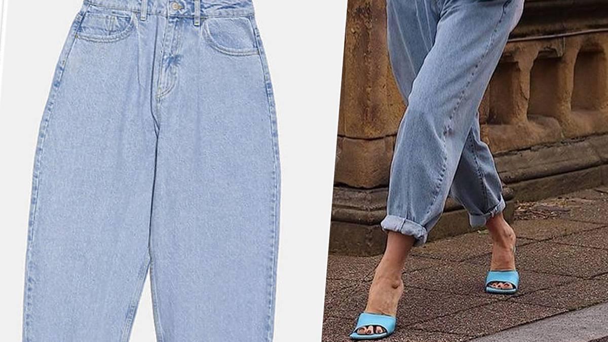 Slouchy jeans z Zary