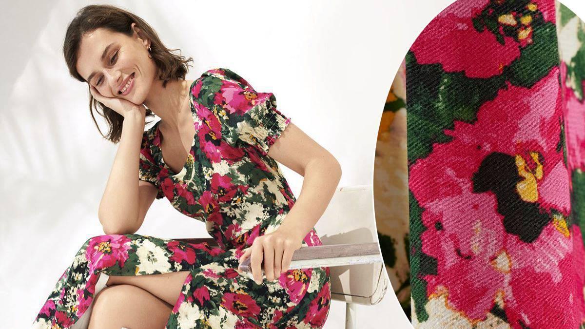 sukienka z H&M