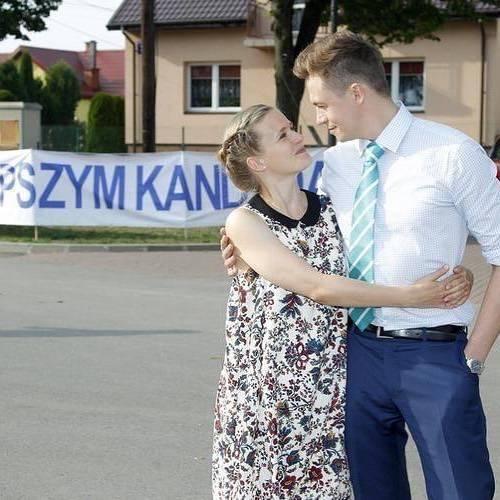 Marta Chodorowska na planie Ranczo