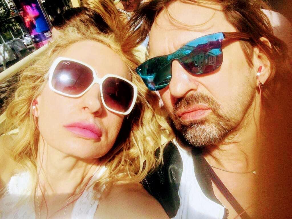 Krzysztof Jaryczewski z żoną Hanią