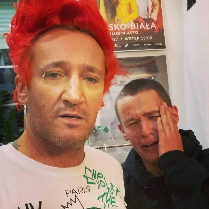 Xavier Wiśniewski płacze