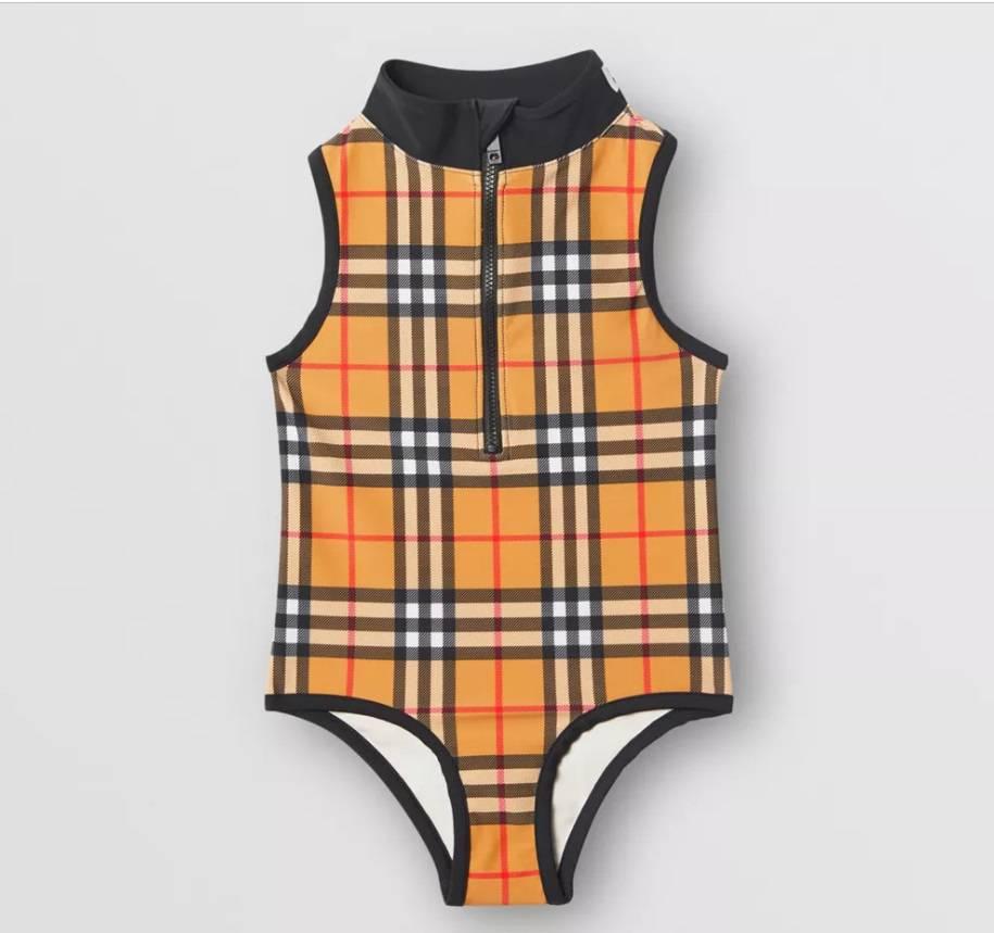 Burberry kostium kąpielowy