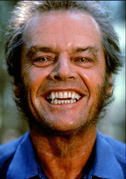 Jack Nicholson - kadr z filmu Wilk