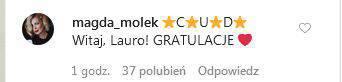 Zdjęcie (5) Anna Lewandowska urodziła. Gwiazdy gratulują. Słowa Magdy Mołek rozczulają najbardziej