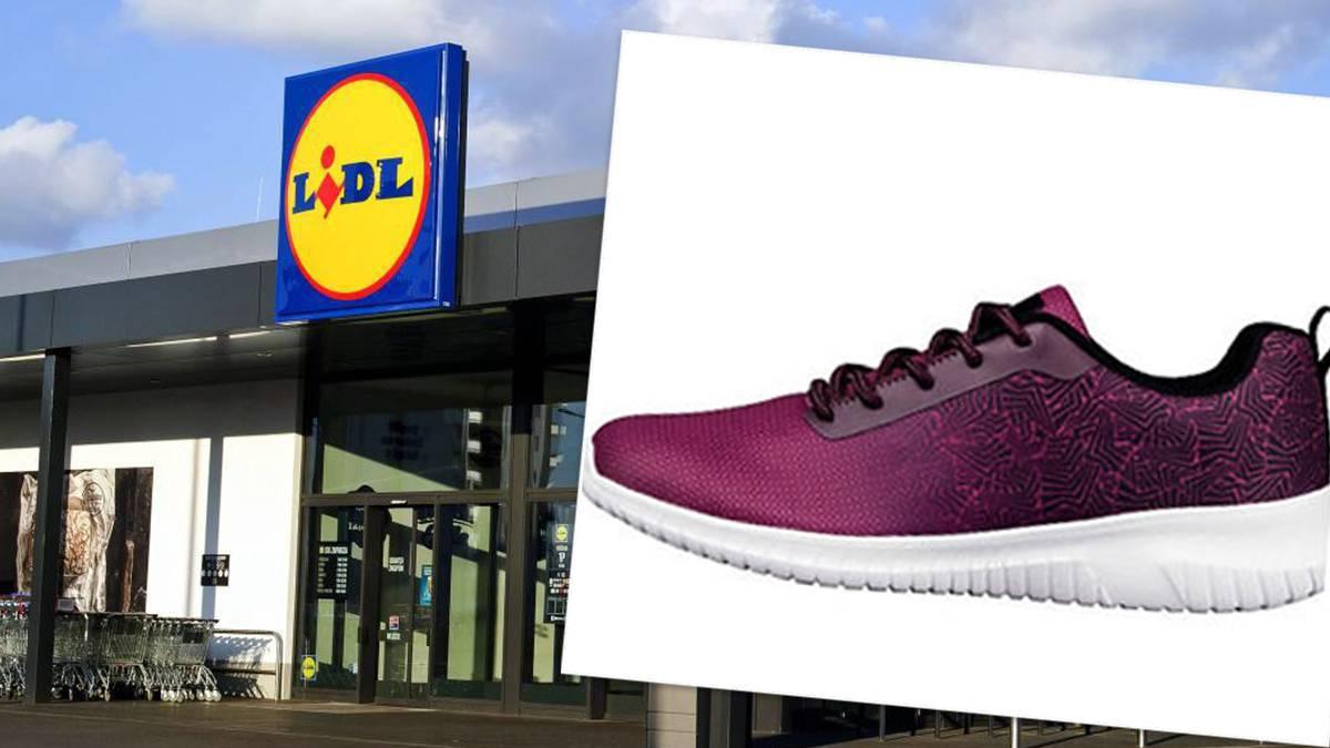 Sneakersy z Lidla