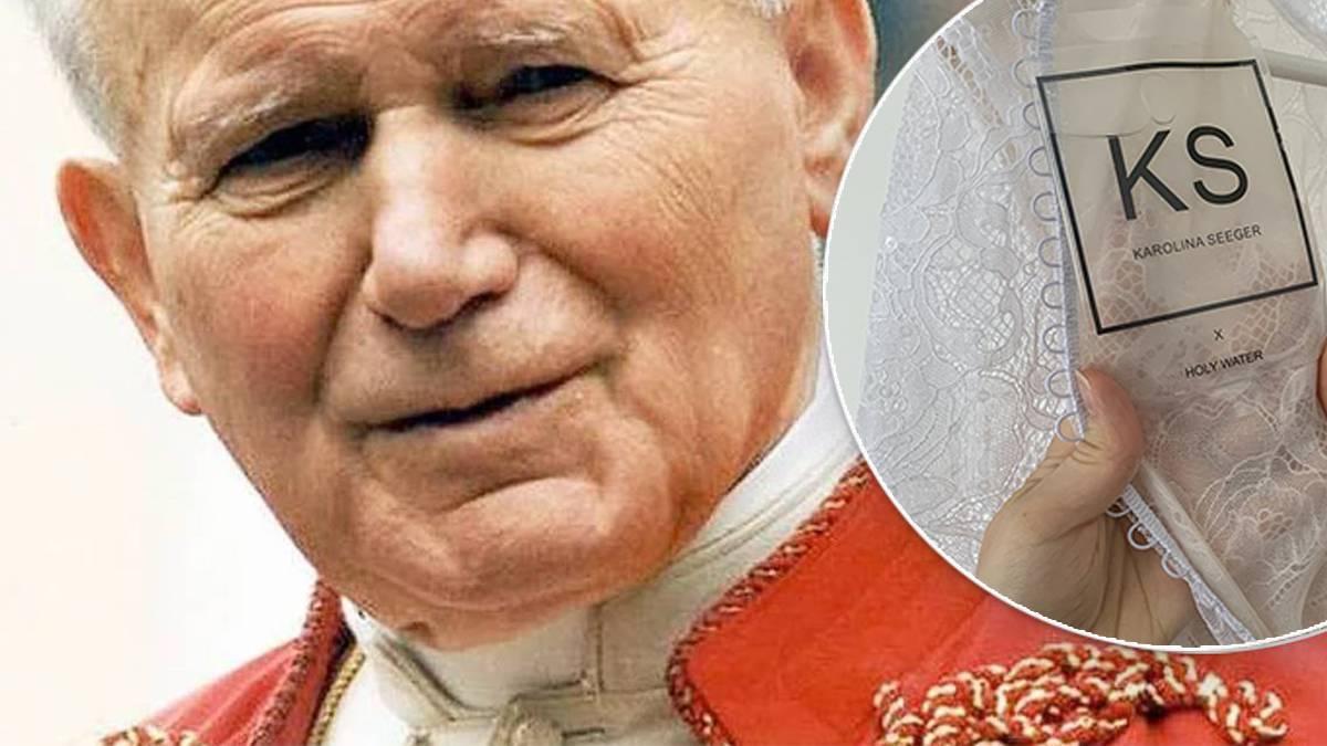 Suknia ślubna w hołdzie dla Jana Pawła II