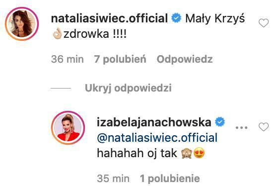 Natalia Siwiec o synu Izabeli Janachowskiej