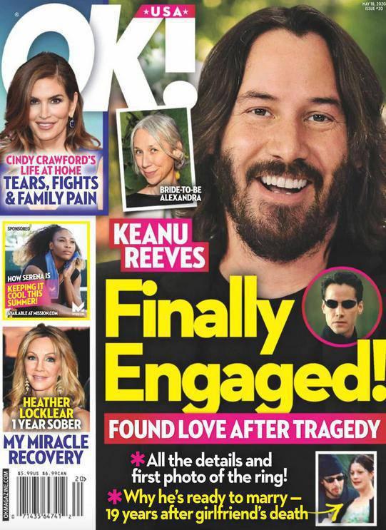 Keanu Reeves i Alexandra Grant zaręczyli się? OK!