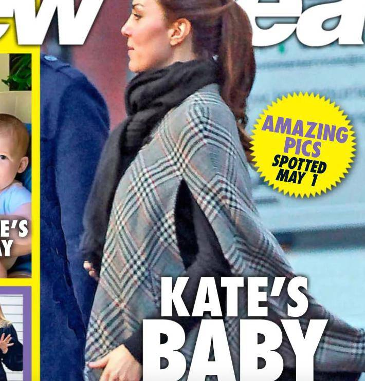 Księżna Kate jest w 4. ciąży?
