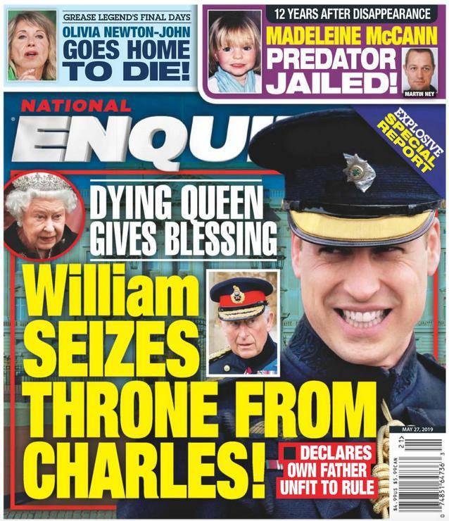 Książę William przejmie tron po królowej Elżbiecie II?