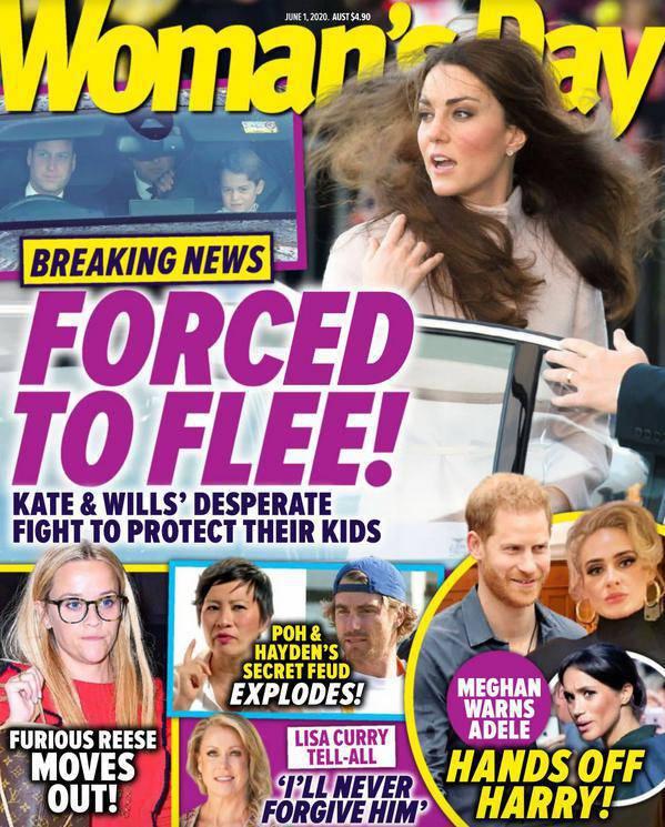 Kate i William zostali zmuszeni do ucieczki. I to dokąd!