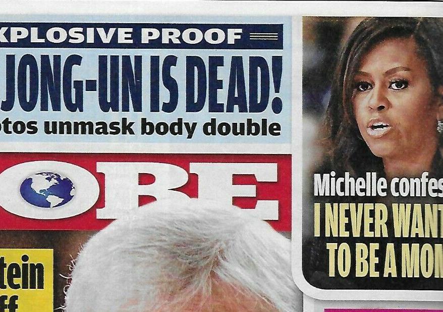 Michelle Obama na okładce Globe