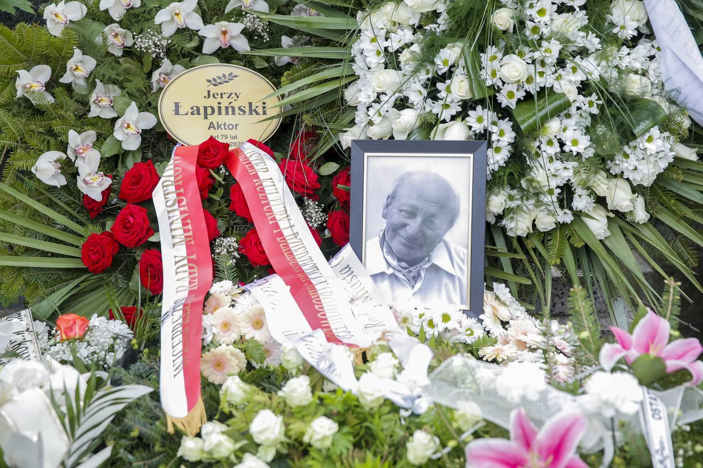 Pogrzeb Jerzego Łapińskiego