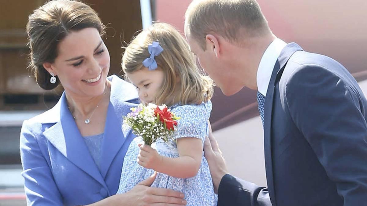 Kate i William z Charlotte